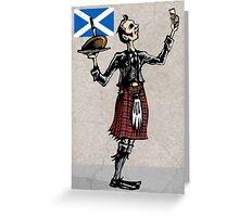 Robbie Burns Day Greeting Card