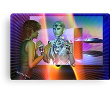 futuristic reality Canvas Print