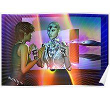 futuristic reality Poster