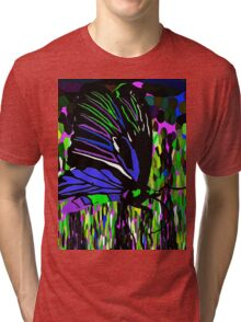 Butterfly Night Tri-blend T-Shirt