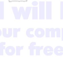 NO I will NOT fix your computer for free Sticker