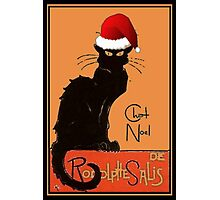 Le Chat Noel Photographic Print