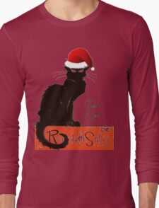 Le Chat Noel Long Sleeve T-Shirt