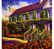 Vines on Claude Monet's House Photographic Print