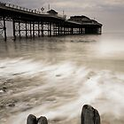 Posts and Pier by Rick Bowden