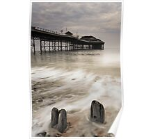 Posts and Pier Poster