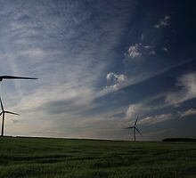 Wind Turbines by Chris Cutler