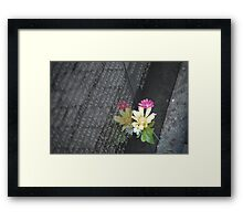 Remembering the Lost Framed Print