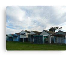Beach Houses, Campbells Cove Canvas Print