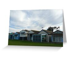 Beach Houses, Campbells Cove Greeting Card