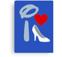 I Heart Cinderella Canvas Print