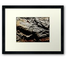 The Hidden Land - Summit On Red Mountain Framed Print