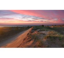 Sleeping Bear Dunes Sunset Photographic Print