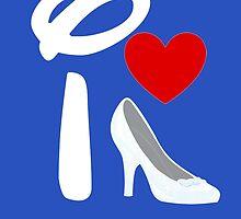 I Heart Cinderella (Inverted) by ShopGirl91706