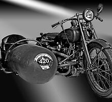 Harley Davidson Eight Valve by Uwe Rothuysen