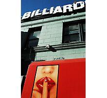 billiards, san francisco Photographic Print