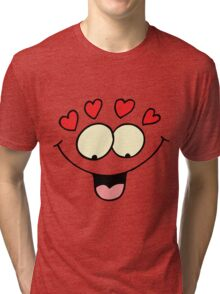 "Valentine's Day ""In Love With What?"" Tri-blend T-Shirt"