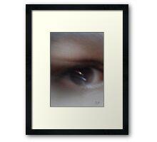 Eye Can See You Framed Print