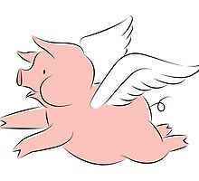 Flying Pig by Andy Kalns