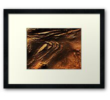 The Hidden Land - Sand Dunes Of Mars Framed Print