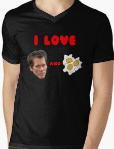 Bacon and Eggs Mens V-Neck T-Shirt