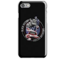 Black History is American History (Red, White, Blue) iPhone Case/Skin