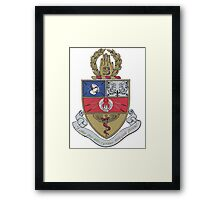 Snarkiteer Coat of Arms Framed Print