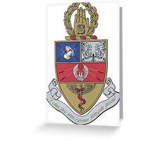 Snarkiteer Coat of Arms Greeting Card
