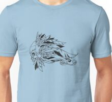 Feathered Skull Unisex T-Shirt