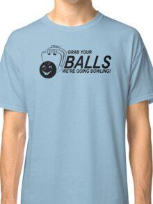 Balls Bowling Funny TShirt Epic T-shirt Humor Tees Cool Tee Classic T-Shirt