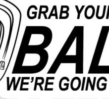 Balls Bowling Funny TShirt Epic T-shirt Humor Tees Cool Tee Sticker