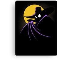 The Terror that Flaps in the Night Canvas Print