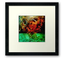 abstract 17 Framed Print