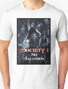 No Salvation Poster (Society 1 Inspired Comic) T-Shirt