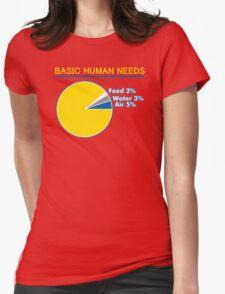 Basic Human Needs Funny TShirt Epic T-shirt Humor Tees Cool Tee T-Shirt