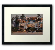 Sunshine Coast - Kings Beach Framed Print