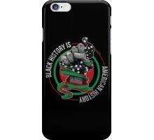 Black History is American History (Black, Green, Red) iPhone Case/Skin