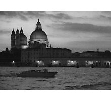 Nightime Venice Photographic Print