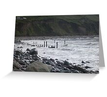 The Sea in Kerry Greeting Card