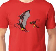 Bat And Robin Funny TShirt Epic T-shirt Humor Tees Cool Tee Unisex T-Shirt