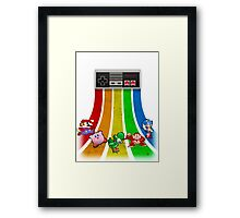 Retro Gaming Series Framed Print