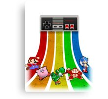 Retro Gaming Series Canvas Print