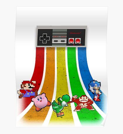 Retro Gaming Series Poster