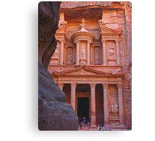 Treasury. Petra. Jordan. Canvas Print