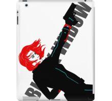 Black Widow - We Want Widow iPad Case/Skin