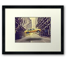 Unreal Reality Framed Print