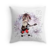Chibi Ryota (bag/pillow white) Throw Pillow