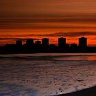 Aberdeen by sunset by Gabor Pozsgai