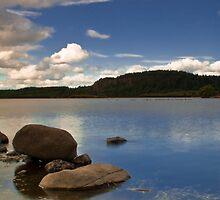North Third Reservoir, Scotland, UK by Gabor Pozsgai