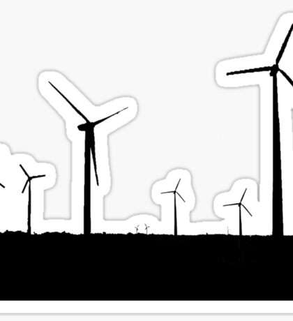 Wind Turbine Sticker